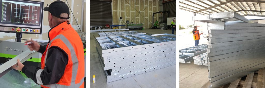Perry Steel Framing Process